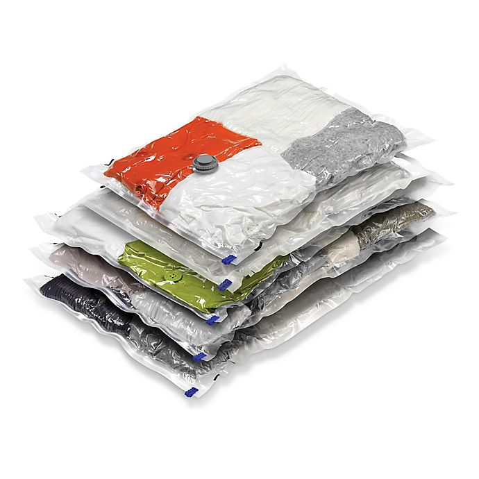 Alternate image 1 for Honey-Can-Do® 5-Piece Vacuum Bags Combo Set