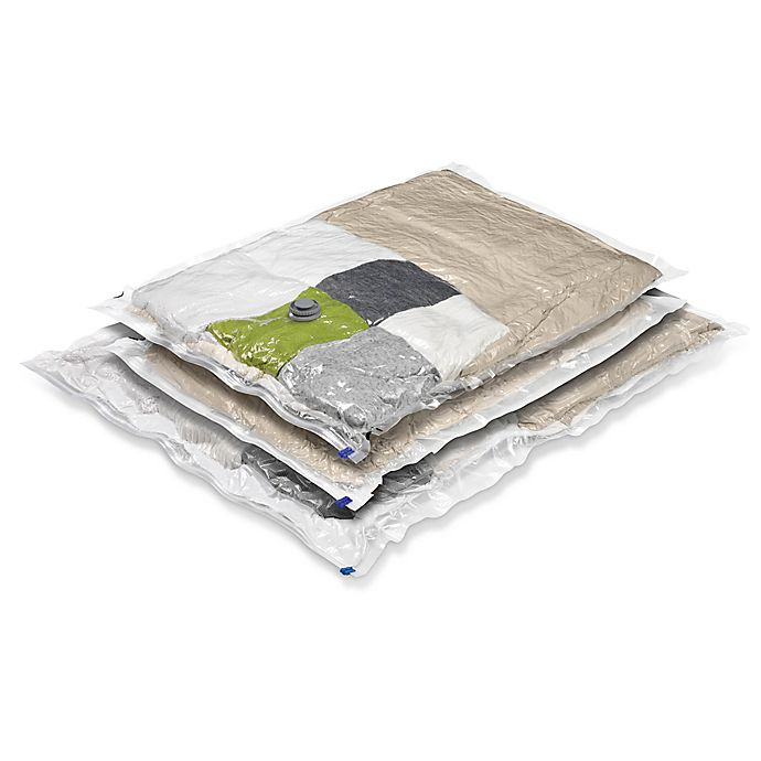 Alternate image 1 for Honey-Can-Do® 3-Count Vacuum Bags Super Storage Combo Pack