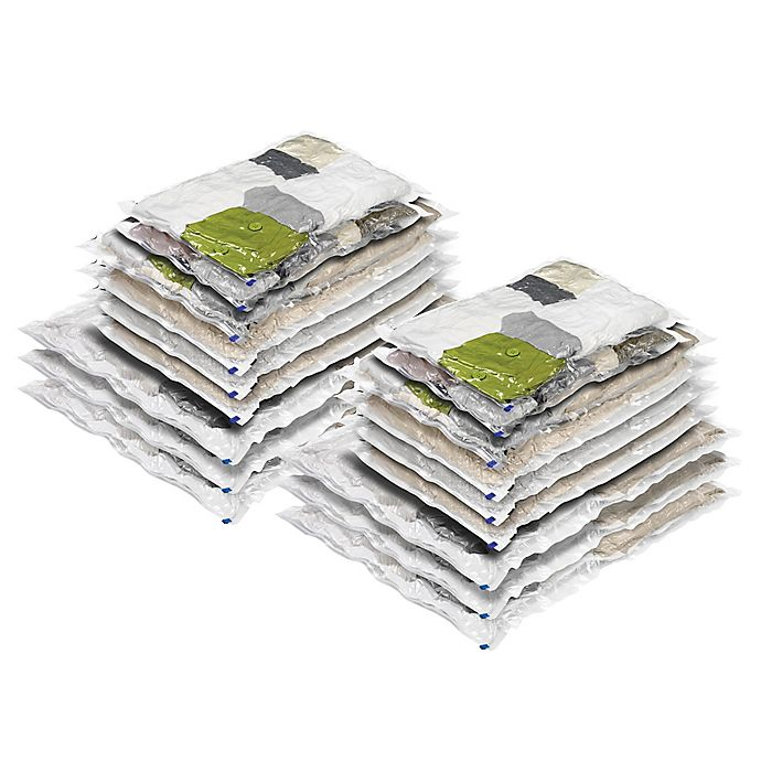 Alternate image 1 for Honey-Can-Do® 18-Count Vacuum Bags Combo Pack