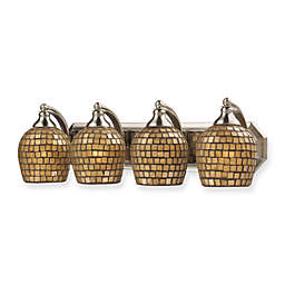 ELK Lighting 4-Light Vanity Light in Satin Nickel