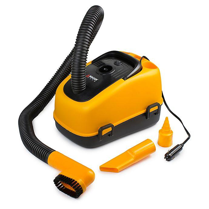 Alternate image 1 for Wagan® 12-Volt Wet/Dry Auto Vaccuum in Orange