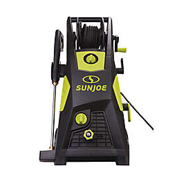Sun Joe® 2300 PSI Electric Pressure Washer with Hose Reel in Green