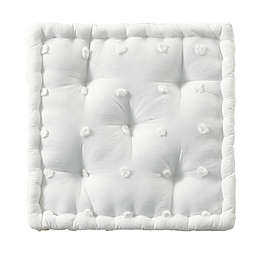 Urban Habitat Brooklyn Cotton Jacquard Square Indoor Floor Pillow Cushion