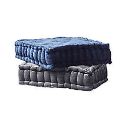 Intelligent Design Azza Poly Chenille Square Indoor Floor Pillow Cushion