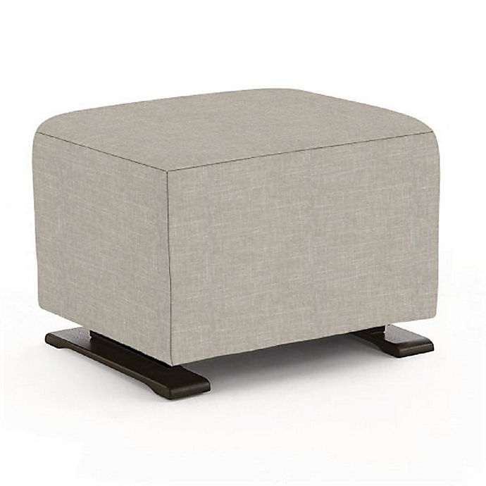 Alternate image 1 for Best Chairs Custom 0006 Coral Glide Ottoman in Grey