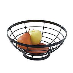 Artisanal Kitchen Supply® Open Fruit Bowl in Black