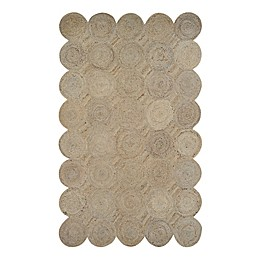 Couristan Nature's Elements Henge Area Rug in Straw