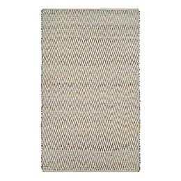 Couristan Nature's Elements Foothills Area Rug in Straw/Timber