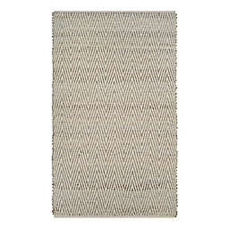 Couristan Nature's Elements Foothills 7'10 x 10'10 Area Rug in Straw/Timber