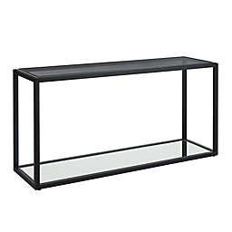 Modus Furniture Ellis Console Table in Nutmeg