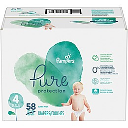 Pampers® Pure Protection Size 4 58-Count Disposable Diapers