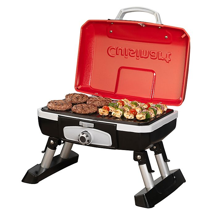 Alternate image 1 for Cuisinart® Petite Portable Tabletop Gas Grill