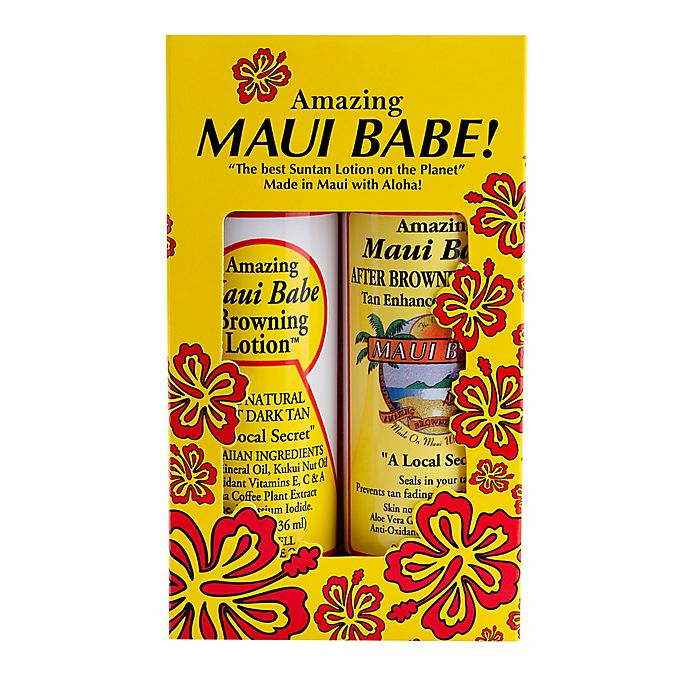 Alternate image 1 for Maui Babe 8 oz. Browning Lotion™ and After Browning Lotion™ (Set of 2)