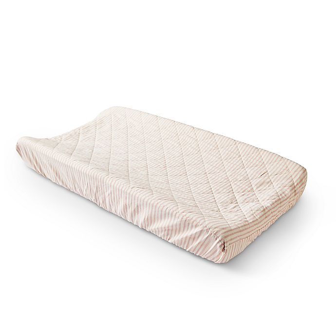 Alternate image 1 for pehr Stripes Away Changing Pad Cover
