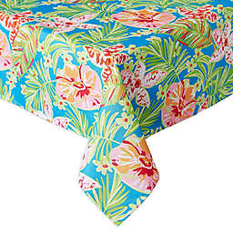 Design Imports Summer Floral Indoor/Outdoor Table Linen Collection