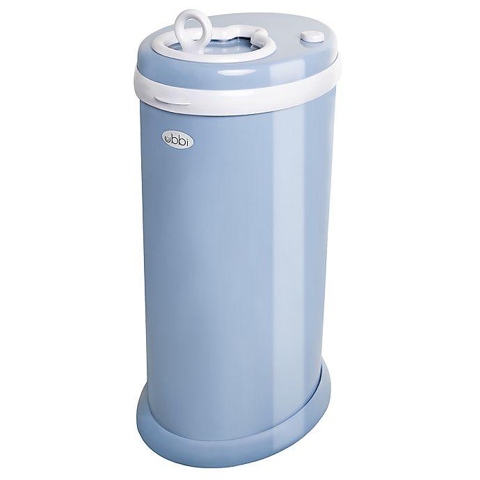 Alternate image 1 for Ubbi® Diaper Pail in Cloud Blue