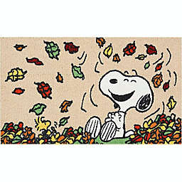 "Peanuts™ Leaf Jump 18"" x 30"" Kitchen Mat"