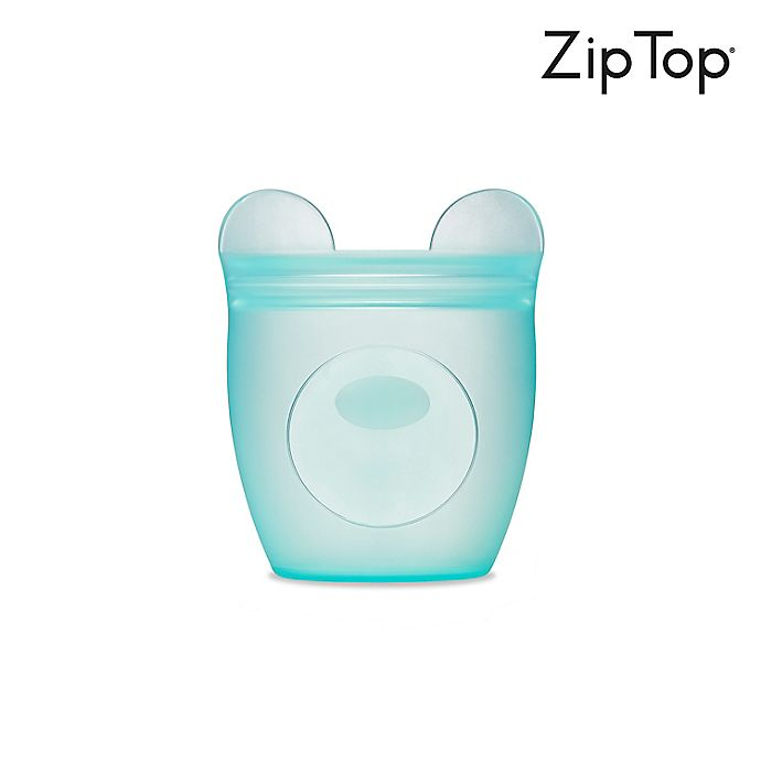Alternate image 1 for Zip Top Bear Baby Snack Container