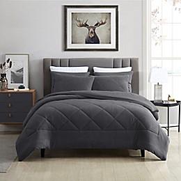 Swift Home Plush Fleece 3-Piece Comforter Set