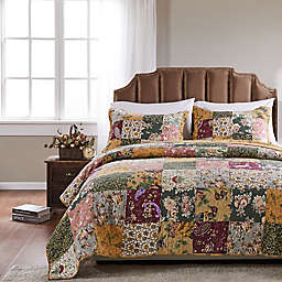 Antique Chic King Quilt Set in Natural