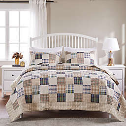 Oxford 3-Piece Reversible Quilt Set