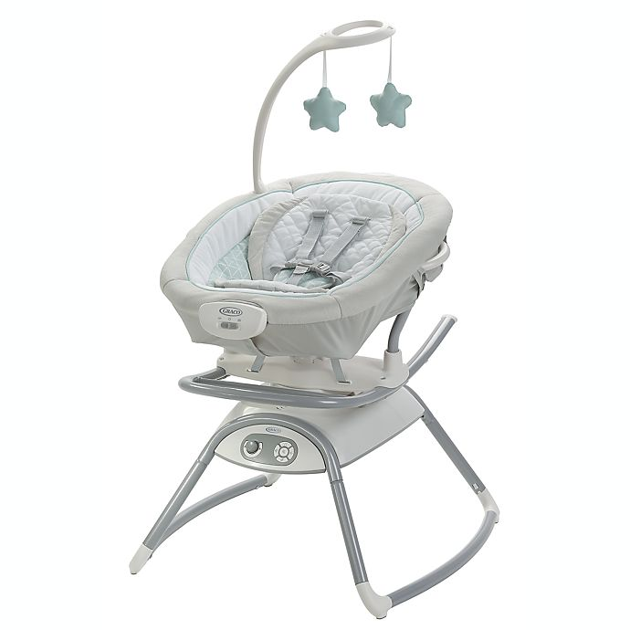 Alternate image 1 for Graco® Duet Glide™ Gliding Swing with Portable Rocker