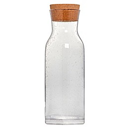 Bee & Willow™ Home 1 Liter Clear Bubble Glass Carafe