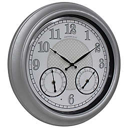 FirsTime & Co.® Radiant LED Indoor/Outdoor Clock