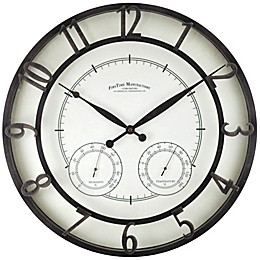 FirsTime & Co.® 18-Inch Park Outdoor Wall Clock
