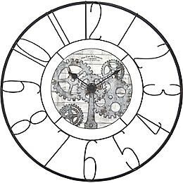 FirsTime & Co.® Fulshaw Farmhouse Gears 36-Inch Wall Clock