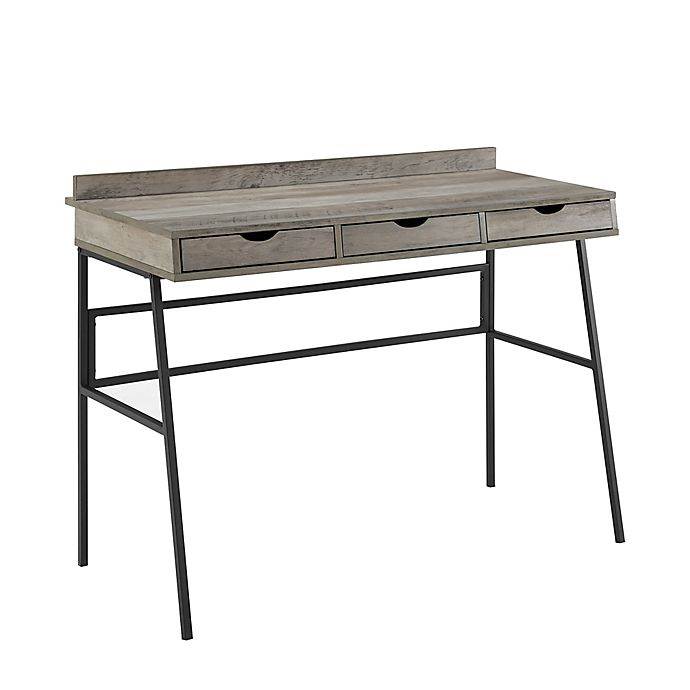 Alternate image 1 for Forest Gate™ Sage 42-Inch Angled Front Desk