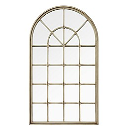 Forest Gate 50-Inch Arched Window Wall Mirror
