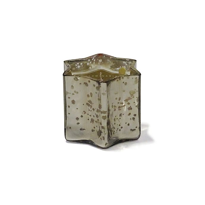 Alternate image 1 for Zodax Small Star Votive Candle in Silver