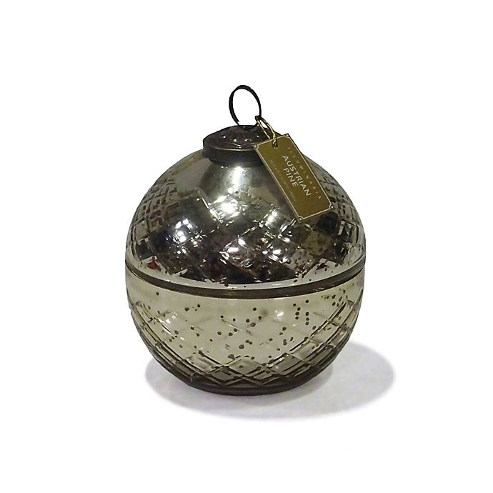 Alternate image 1 for Zodax Small Ornament Jar Candle in Gold