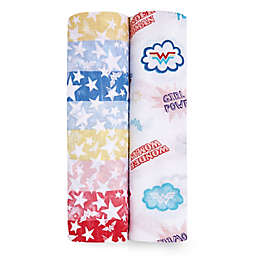 aden + anais essentials® 2-Pack Wonder Woman Swaddle Blankets