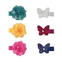 carter's® 6-Pack Plume Bow Mini Hair Clips