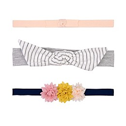 carters® 3-Pack Knot Flower Headwraps