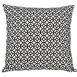 HiEnd Accents Toile European Pillow Sham in Black