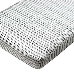 The Honest Company® Striped Organic Cotton Fitted Crib Sheet