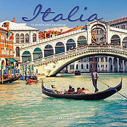 Graphique® de France Italia 2021 Mini Wall Calendar