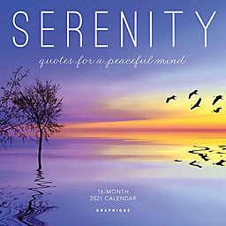 Graphique® de France 2021 Serenity Mini Wall Calendar