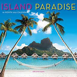 Graphique® de France Island Paradise 2021 Mini Wall Calendar