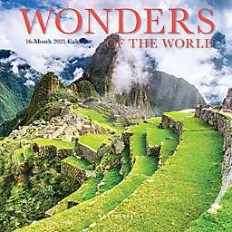 Graphique® de France Wonders of the World 2021 Mini Wall Calendar