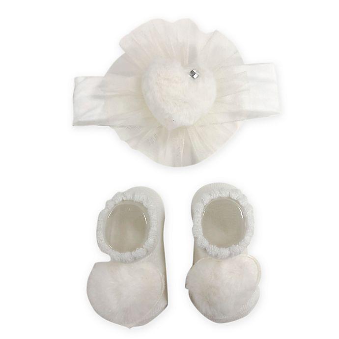 Alternate image 1 for Curls & Pearls 2-Piece Bootist Set