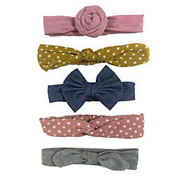 Curls & Pearls 5-Pack Fall Styles Mixed Headbands