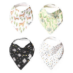 Copper Pearl 4-Pack Cusco Bandana Bibs