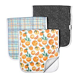 Copper Pearl 3-Pack Citrus Premium Burp Cloths