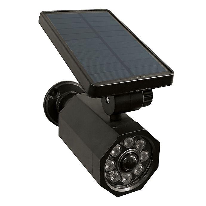 Alternate image 1 for Bell + Howell 4-Watt Equivalent Solar Powered Utility Light in Black
