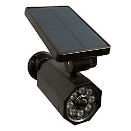 Bell + Howell 4-Watt Equivalent Solar Powered Utility Light in Black