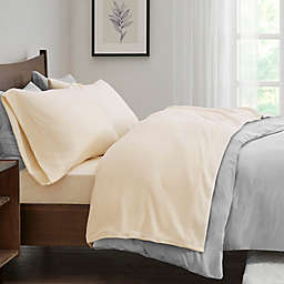 True North by Sleep Philosophy Micro Fleece King Sheet Set in Ivy